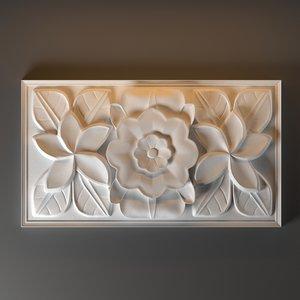 molding decor 3D model