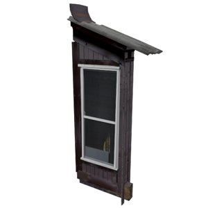 balcony metais 01 140 3D model