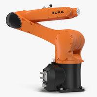 Kuka Robot KR 10 R1100 Rigged for Cinema 4D