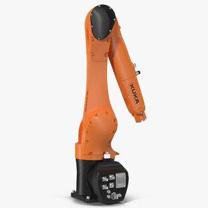 3D kuka robot kr 10 model