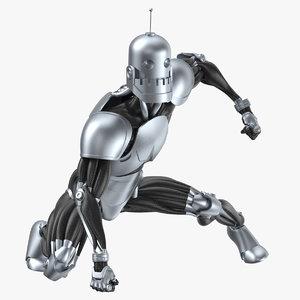 robot 02 landing model