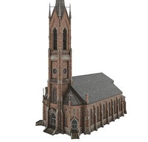 church 01 3D