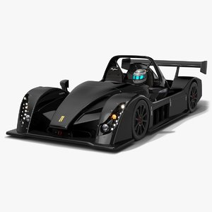 3D model radical rapture 2020 car