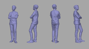 3D scanned child