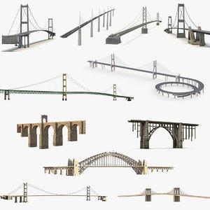 3D bridges 5 model