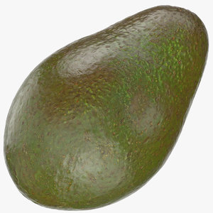 3D model avocado 04