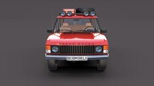 3D rover range interior