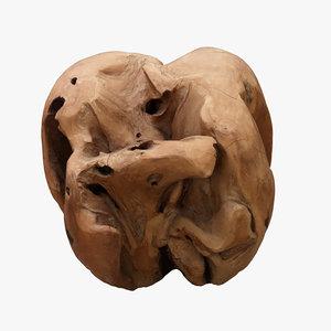driftwood wood model