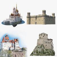 3D model castles 2