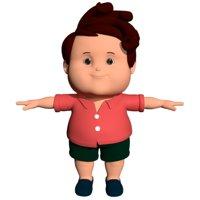 Fat Boy Cartoon