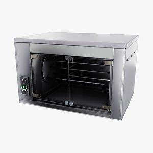 rotisserie oven 3D model