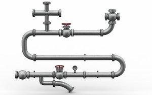 pipe valve industry model