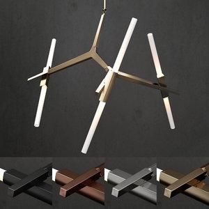 3D chandelier modern