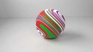 rubber ball 3D