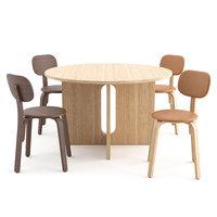 3D afteroom dining chair menu