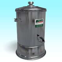 water container 3D model
