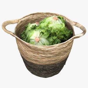 market basket 3D