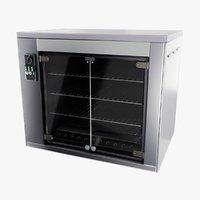 rotisserie oven baking machine 3D model