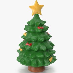 christmas tree figurine 6 3D model