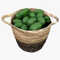 market basket avocados 3D