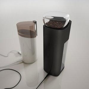 electric coffee grinder 3D model