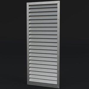 air vent 1 3D