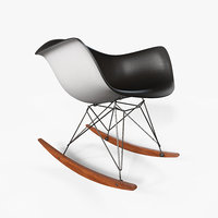 eames rocking chair model
