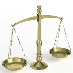 balance scale 1 model