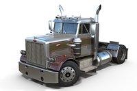Peterbilt 289 daycab semi-truck