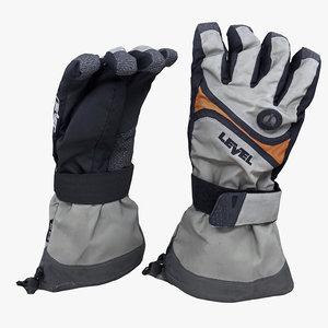 glove realistic model