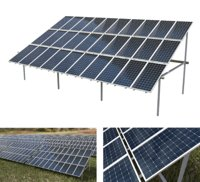 3x10 pv solar panel array