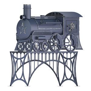 train oven f3d 3D model