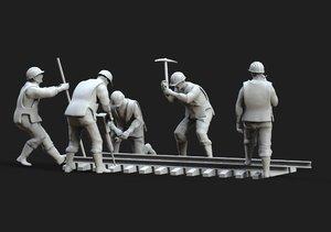 3D repair railway