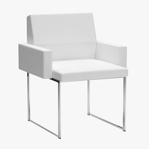 3D stanley jay friedman zag chair model