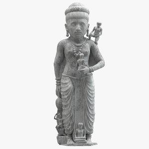 statue ancient hariti 3D