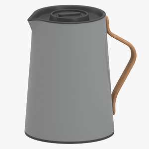 stelton emma tea vacuum 3D model