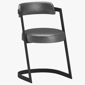 studio dining chair kelly 3D model
