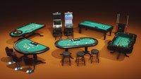 Casino Props Pack UE4 UNITY