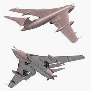 handley page victor 3D model