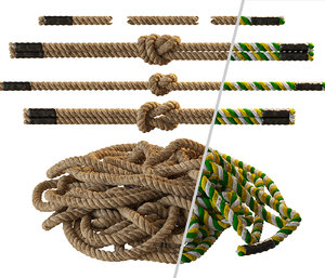 3D rope knot