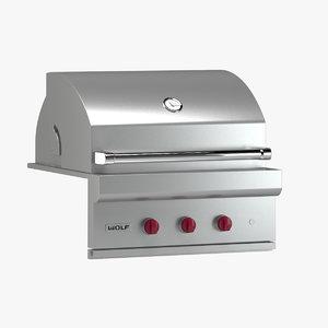 subzero wolf grill model