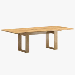 3D sutherland poolside dining table