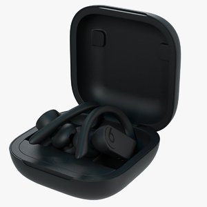 powerbeats pro case 3D model
