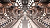 Sci-Fi Modular Corridor 2 Engine section