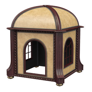 small indoor dog house model