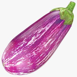 3D model eggplant 03