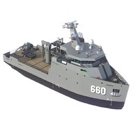 vessels military 3D model