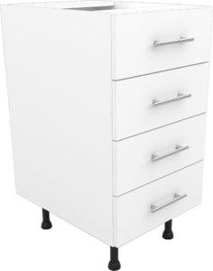 kitchen base unit 450 3D