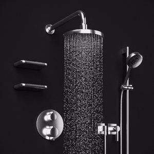 dornbracht selv x20767 shower 3D model