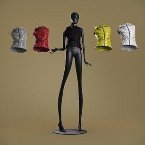 3D mannequin 6014 coll 60 model